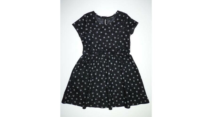 104 110-es gyönyörű fekete ezüst csillagos alkalmi ruha - Szoknyák ... 92c4caf906