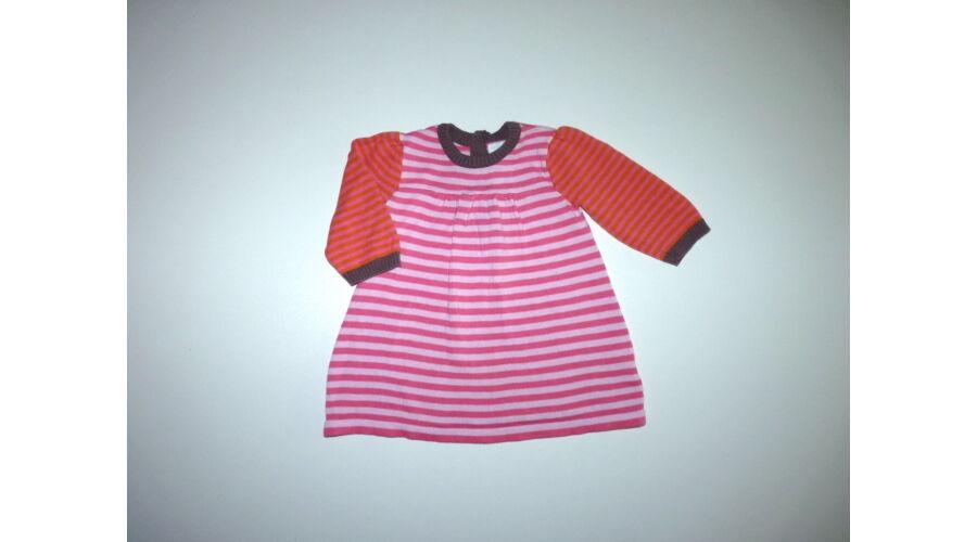 4cfc19a44a 62-es tündéri kötött csíkos kislány ruha, tunika - Szoknyák, ruhák ...