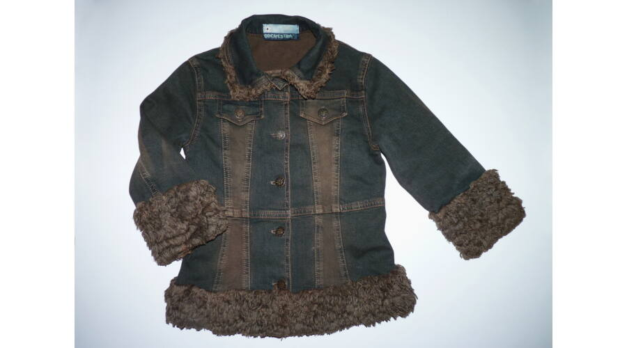6b3e703f3c 104-es különleges koptatott kislány farmerkabát - Kabátok - Lurkoshop  gyerekruha webshop