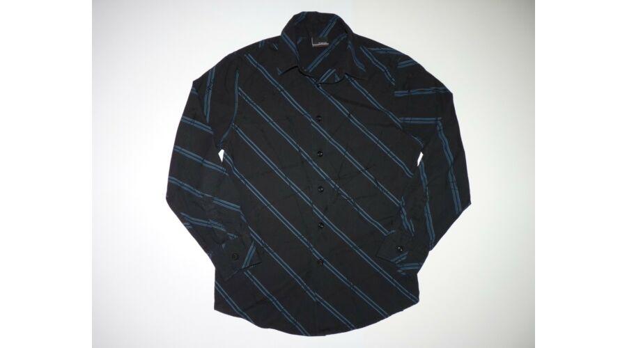 434f26888c 140-es Next divatos fekete-kék ing - Pólók, felsők, ingek ...