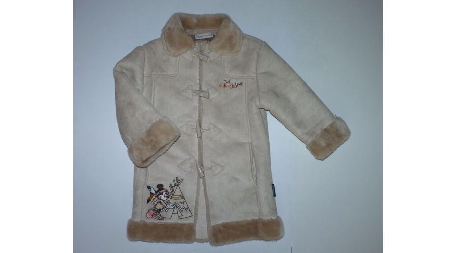 f78963859e 104-es gyönyörű Disney Minnie kislány műirha kabát - Kabátok ...