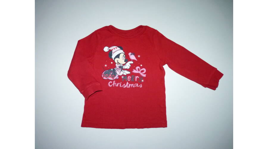 74 80-as Disney Minnie tündéri karácsonyi felső - Pólók c1171c07aa