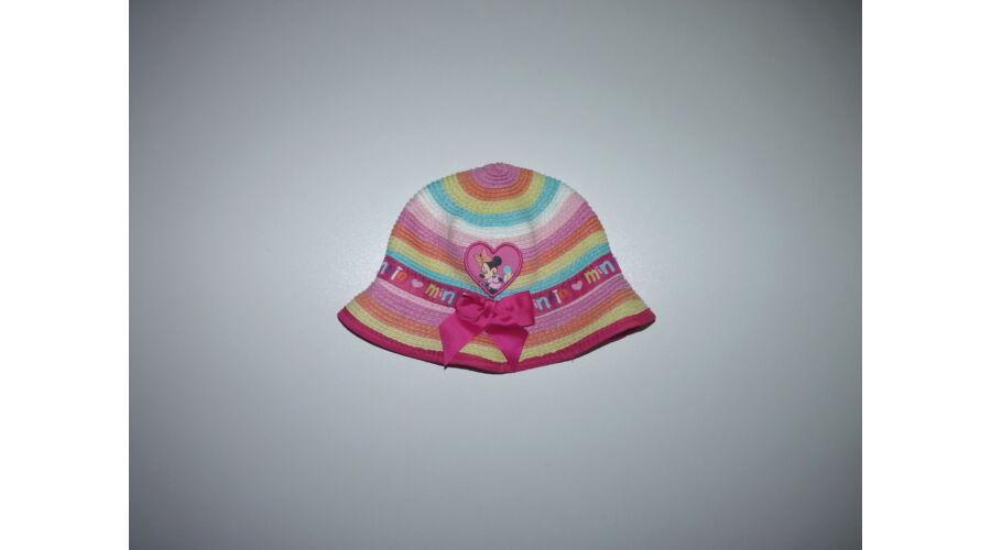 ef6e7637e6 Disney Minnie vidám színes nyári kalap 0-6 hó - 62 - Lurkoshop ...