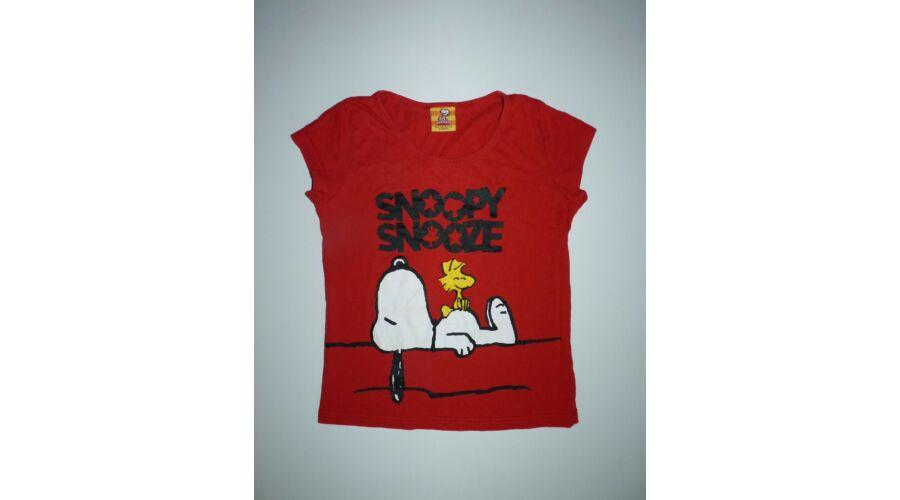 146 152-es vagány Snoopy mintás póló - Pólók 3a8f4a5bf1