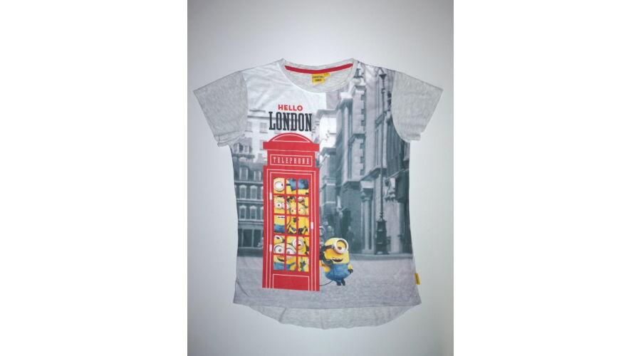 d7266882f7 M-es Minions piros telefonfülkés póló - Pólók, felsők, ingek - Lurkoshop  gyerekruha webshop