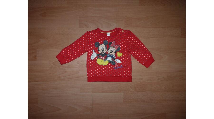 74-es C A Disney Mickey és Minnie mintás átmeneti pamut felső - 74 ... c2838e0ab1
