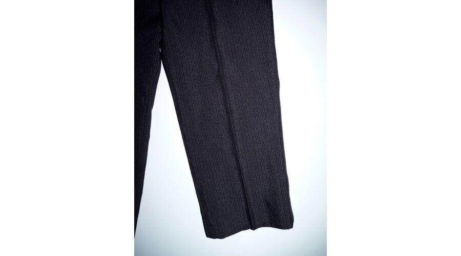 5dfa8425d1 98-as fekete hajszálcsíkos alkalmi öltönynadrág - Nadrágok ...