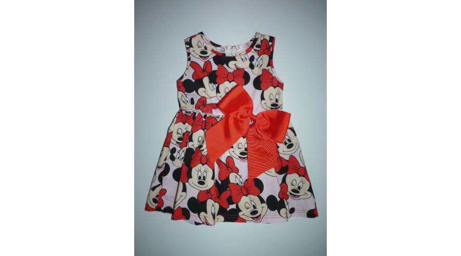 2f85a2bd04 92/98-as csinos Minnie-s kislány ruha - 92 - Lurkoshop gyerekruha ...