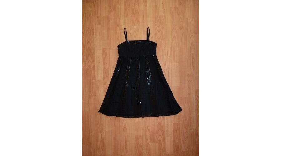 618e908878 140-es csodaszép fekete alkalmi ruha - Szoknyák, ruhák - Lurkoshop ...