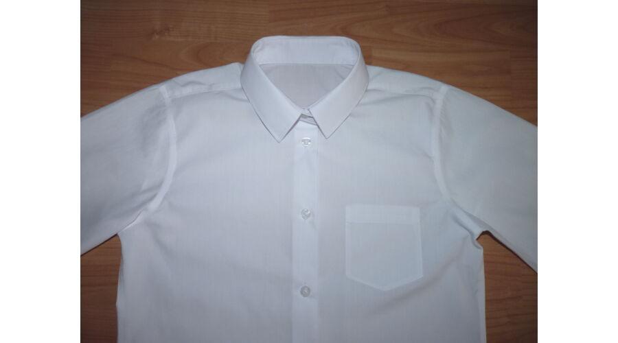 ce4c37d273 152-es TU fehér rövid ujjú alkalmi ing - Pólók, felsők, ingek ...