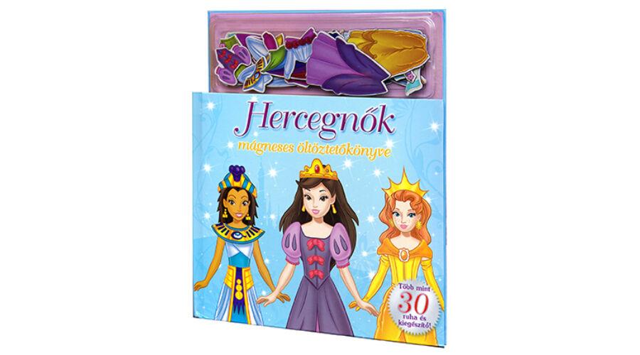 Hercegnők mágneses öltöztetőkönyve - Gyerek könyvek - Lurkoshop ... dde5b649f0