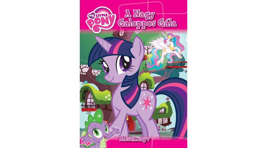 My Little Pony - A nagy galoppos gála - Gyerek könyvek - Lurkoshop ... fefef5d175