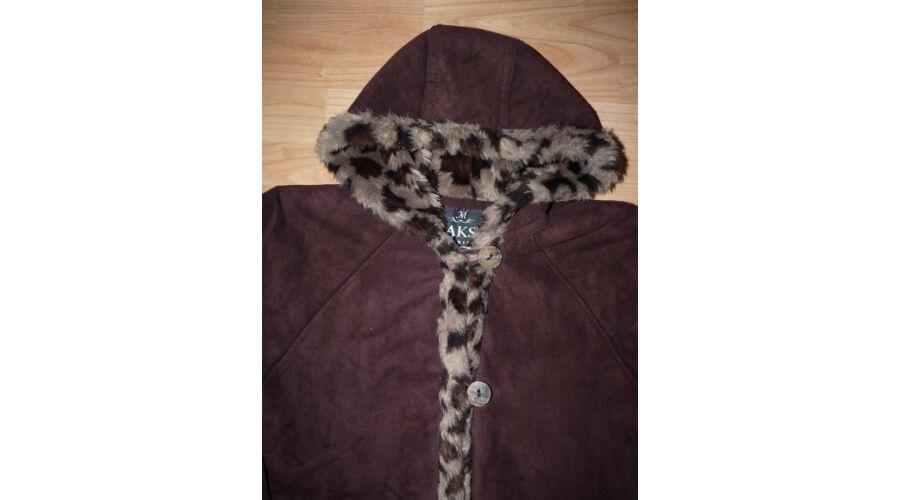 116-os irha utánzat kislány kabát szőrmés béléssel - Kabátok ... a169d946b8
