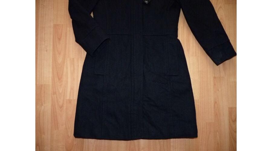 90dc821f30 140-es Next csinos fekete kapucnis szövetkabát - Kabátok - Lurkoshop ...
