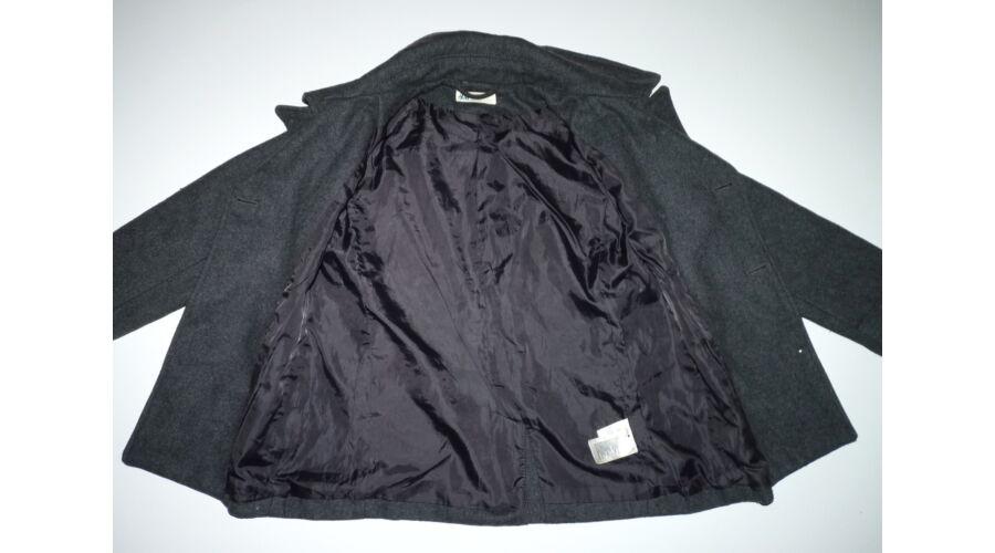 33d13fb6f1 134-es H&M sötétszürke szövetkabát - Kabátok - Lurkoshop gyerekruha ...