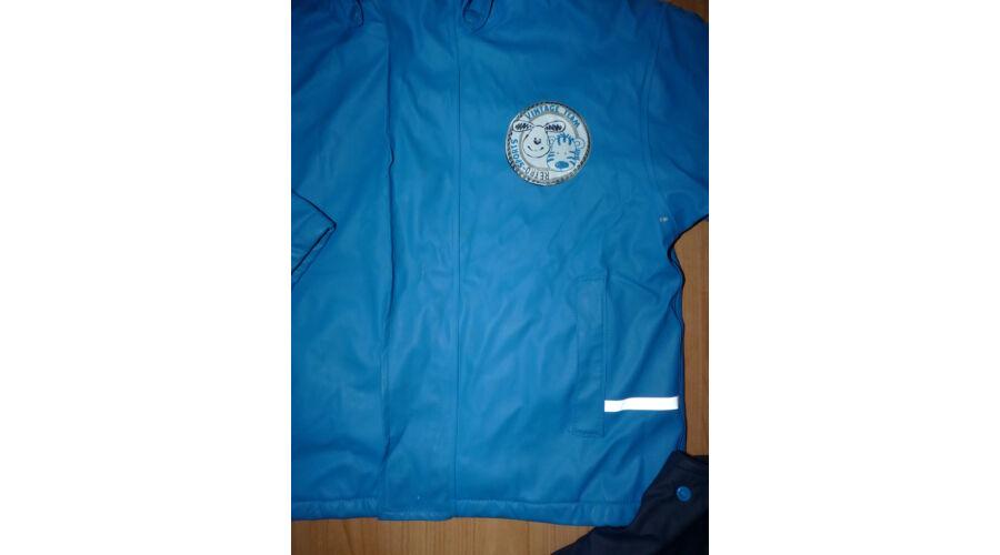 110 116-os bélelt esőruha kabát és nadrág - játszósabb - Nadrágok ... 33bd878aec