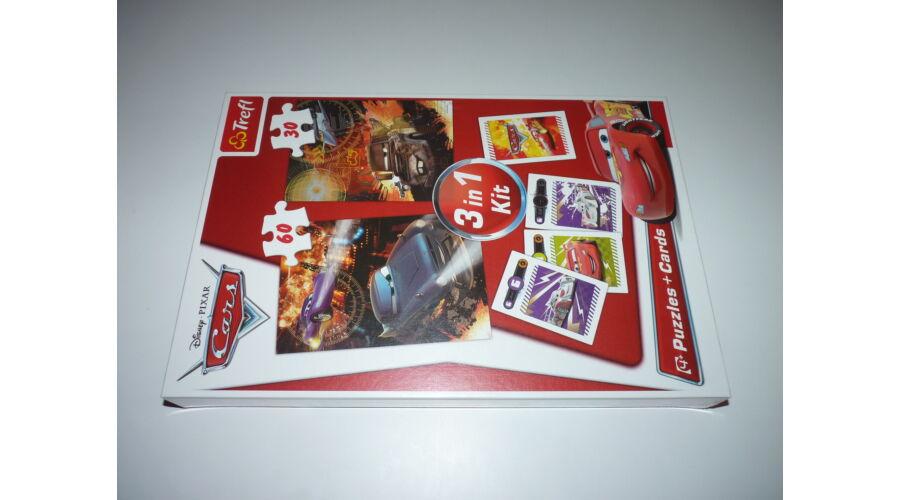 Trefl Disney Verdák 3 in 1 - kirakók (puzzle) + kártya - Puzzle ... 4bae578a23