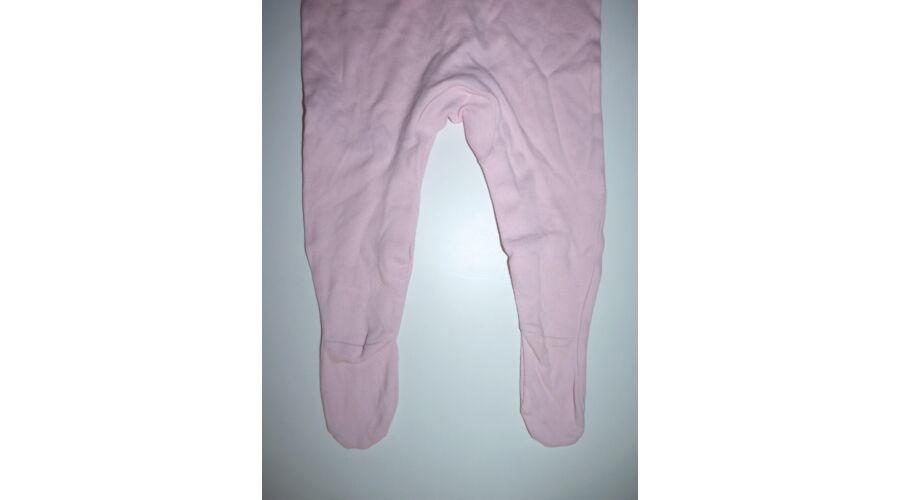 62 68-as rózsaszín lepkés pamut rugdalózó - Bodyk 3da7ab94c6