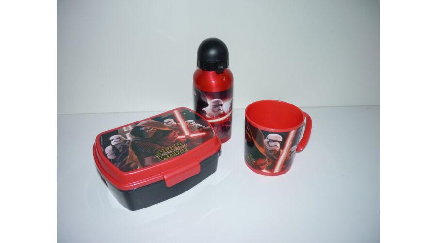 Star Wars kiránduló készlet - uzsonnás doboz 728f1cd0b1