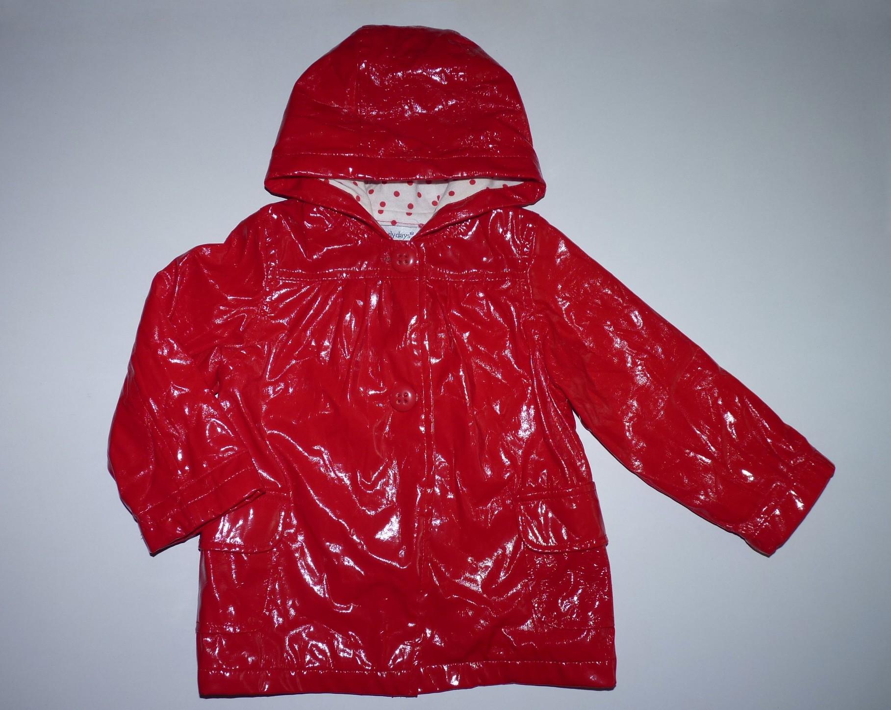 31df1eeb06 80-as gyönyörű piros lakk kislány kabát - Kabátok - Lurkoshop gyerekruha  webshop
